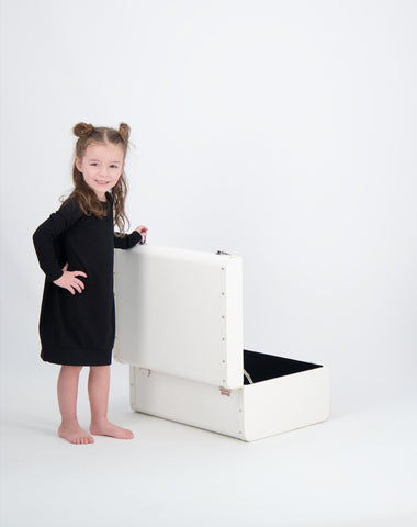 Kids Cotton Pullover Dress