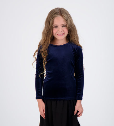 Kids Velour Long Sleeve