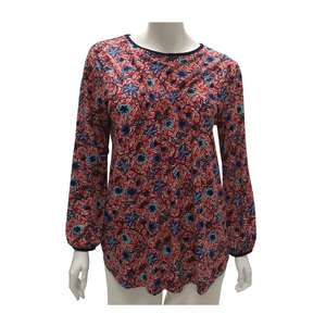 Printed Jersey Long Sleeve Top