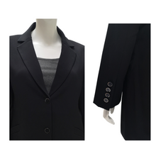 Poly Suiting Long Blazer