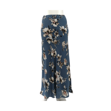 Floral Bias Long Skirt