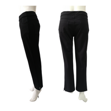 Poly Knit Slim Cut Long Pant