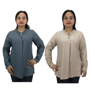 Tencel Linen Long Sleeve Shirt