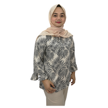 Printed Georgette 3/4 Sleeve Blouse
