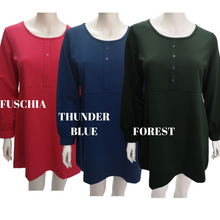Cotton Jersey Long Sleeve Top