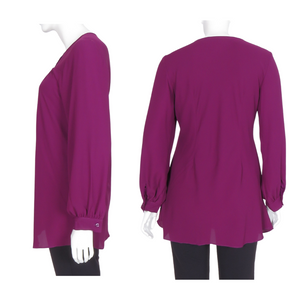 Polyester Long Sleeve Blouse
