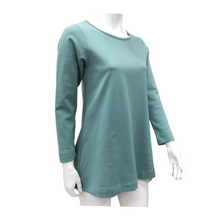 Cotton Knit Long Sleeve Top
