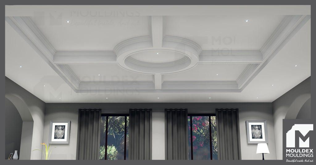 Circle Waffle Ceiling Designs