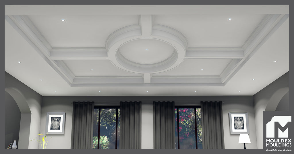 Circle Coffered Ceiling Design