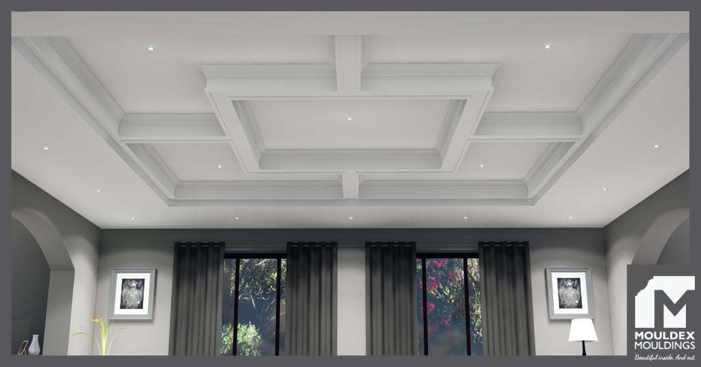Creative Coffered Ceilings