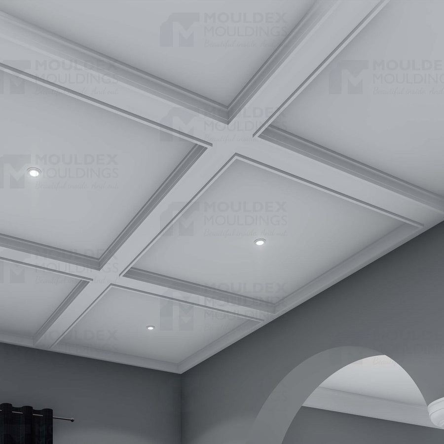 THE DURHAM - INTERIOR PLASTER CEILING BEAM (6