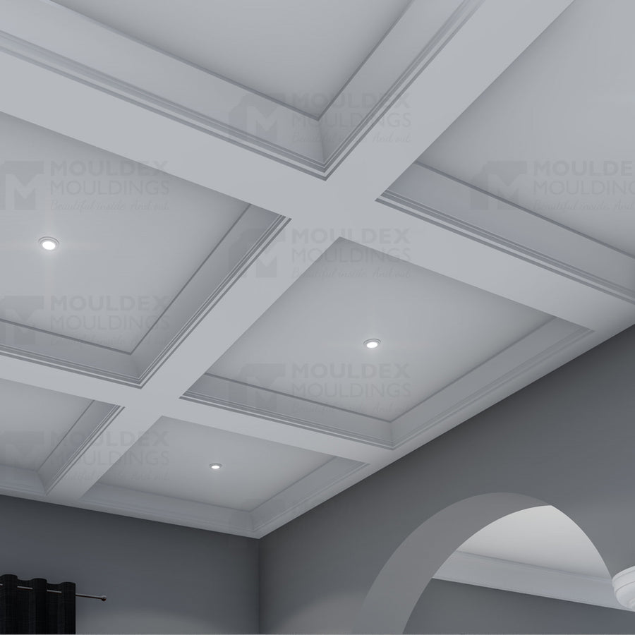 THE LORRAINE - INTERIOR PLASTER CEILING BEAM (12