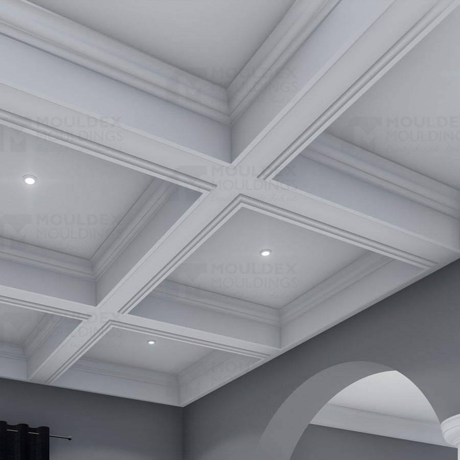 THE CAMELOT - INTERIOR PLASTER CEILING BEAM (12