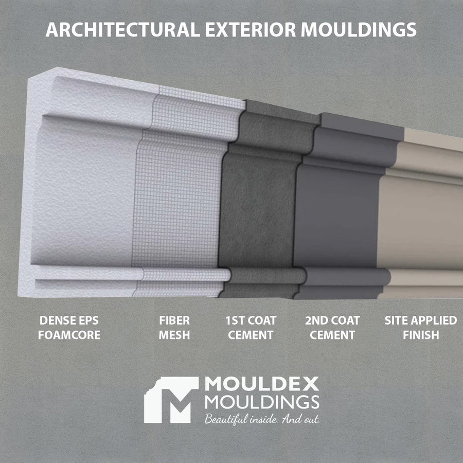 THE DOVERCOURT - EXTERIOR CORNICE/CROWN MOULDING (5