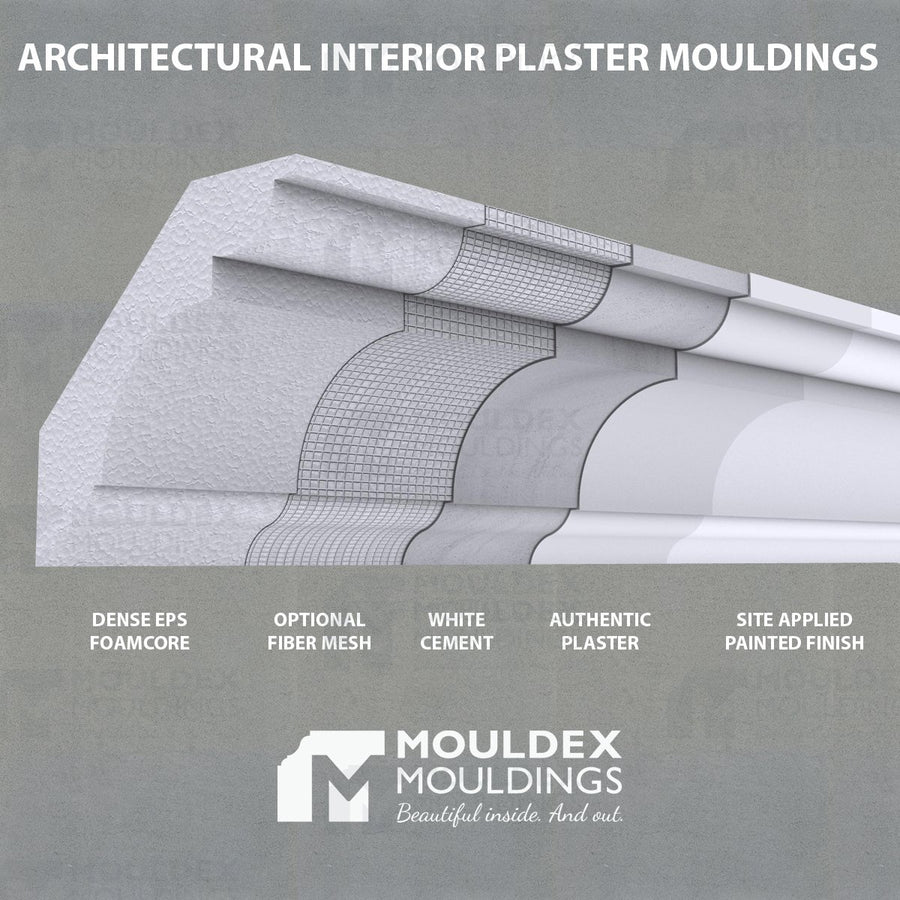 THE SALLY - INTERIOR PLASTER CEILING BEAM (12