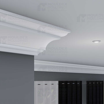 THE BELVEDERE - INTERIOR PLASTER CROWN/CORNICE (4