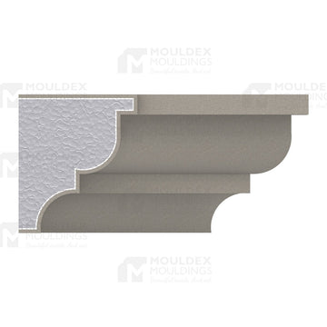 THE AUGUSTA - EXTERIOR CORNICE/CROWN MOULDING (3-1/2