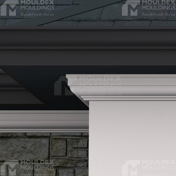 THE BUCKINGHAM - EXTERIOR CORNICE/CROWN MOULDING (4