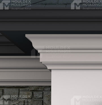 THE HOLLY - EXTERIOR CORNICE/CROWN MOULDING (9-3/16