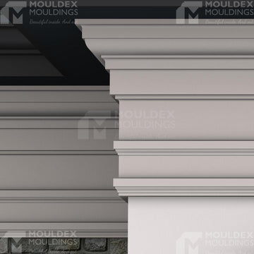 THE NORTON - EXTERIOR CORNICE/CROWN MOULDING (18