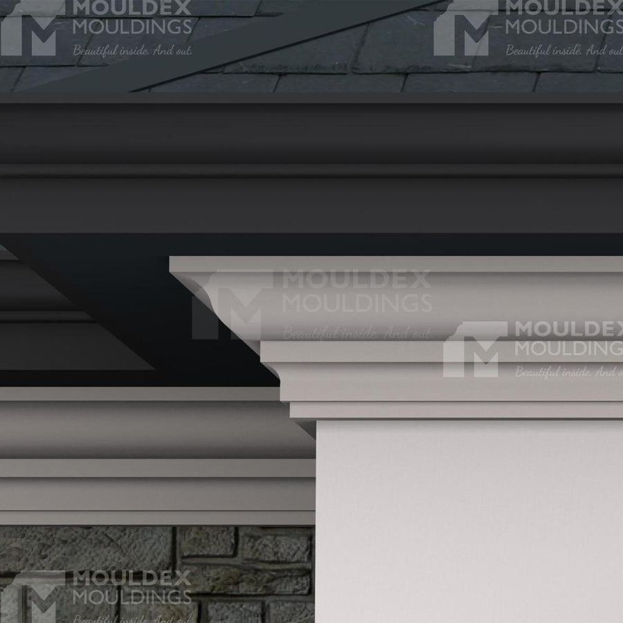 THE PORTLAND - EXTERIOR CORNICE/CROWN MOULDING  (7