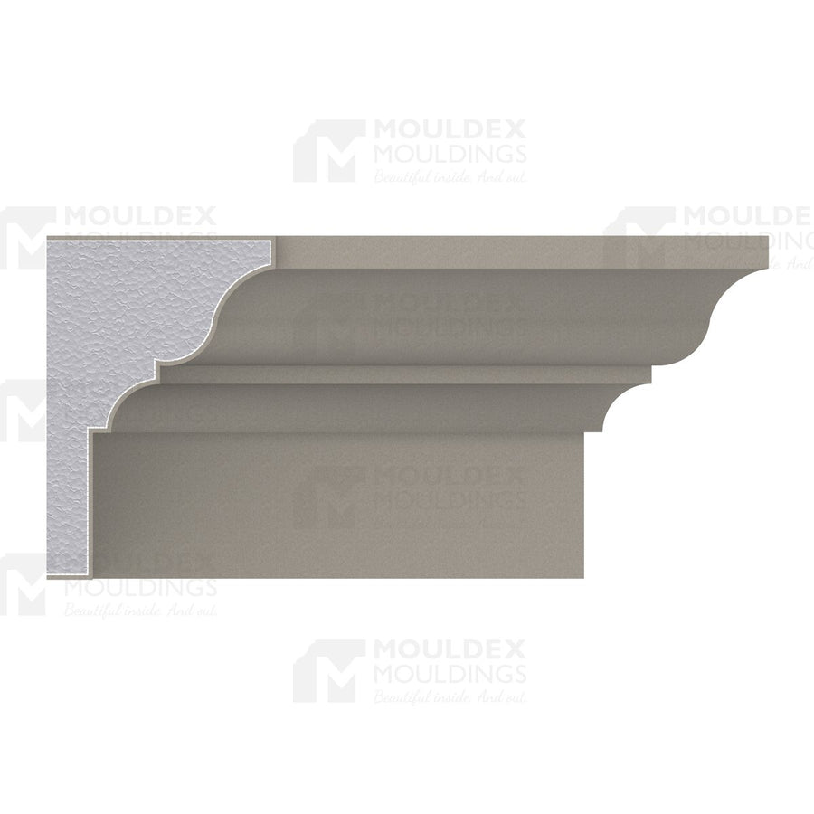 THE QUINTE - EXTERIOR CORNICE/CROWN MOULDING  (7-1/8