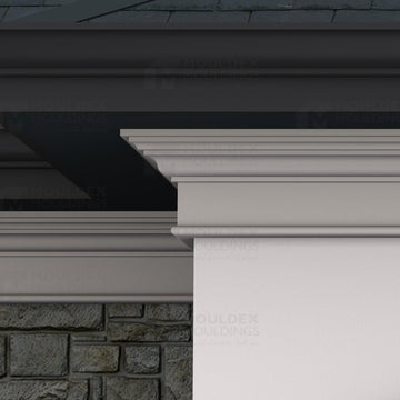 THE ROSEDALE - EXTERIOR CORNICE/CROWN MOULDING (7-1/2