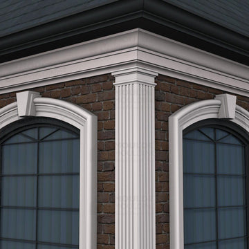 THE FLUTE 8 - EXTERIOR PILASTERS (8