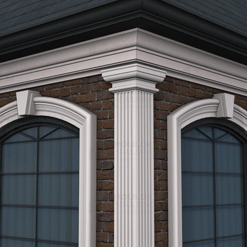 THE FLUTE 6 - EXTERIOR PILASTERS (6