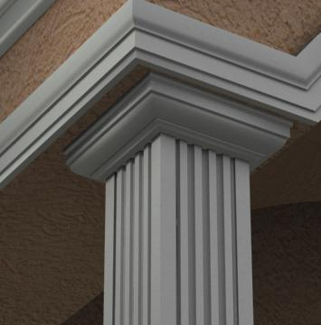 THE AVANT - EXTERIOR PILASTER/SQUARE COLUMN CAPITAL (4