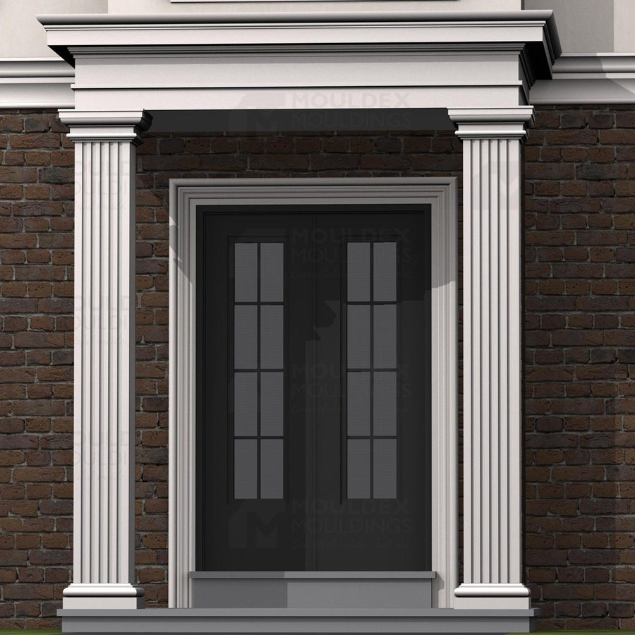THE ASTON - EXTERIOR PILASTER/SQUARE COLUMN BASE (5-9/16