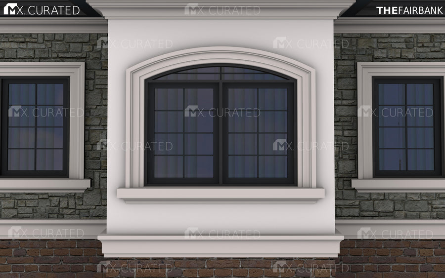 THE EUCLID - EXTERIOR CORNICE/CROWN MOULDING (6