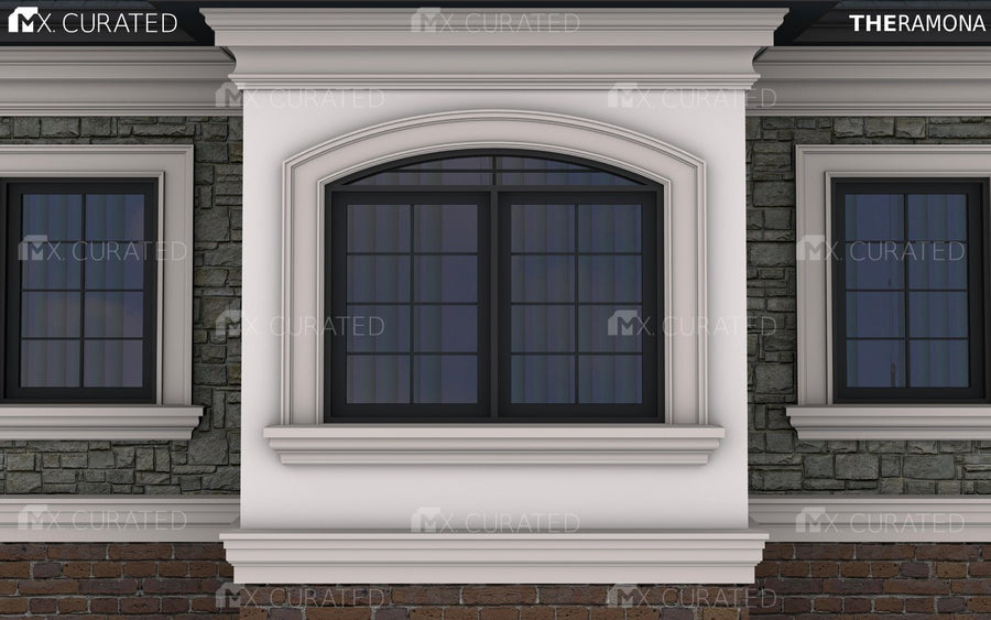 THE LOMA - EXTERIOR CORNICE/CROWN MOULDING (12-1/2