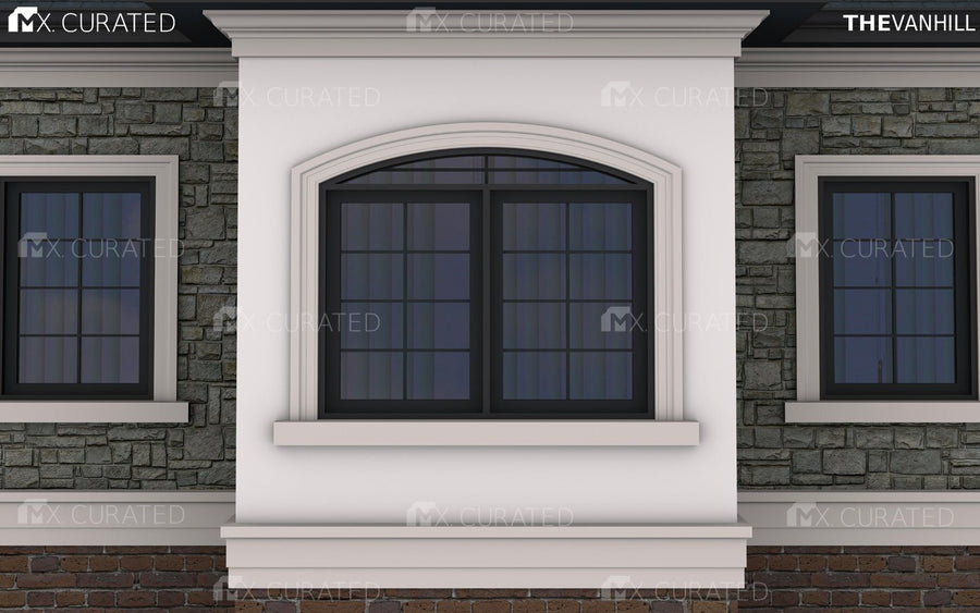 THE SOPHIA - EXTERIOR CORNICE/CROWN MOULDING (10-1/2