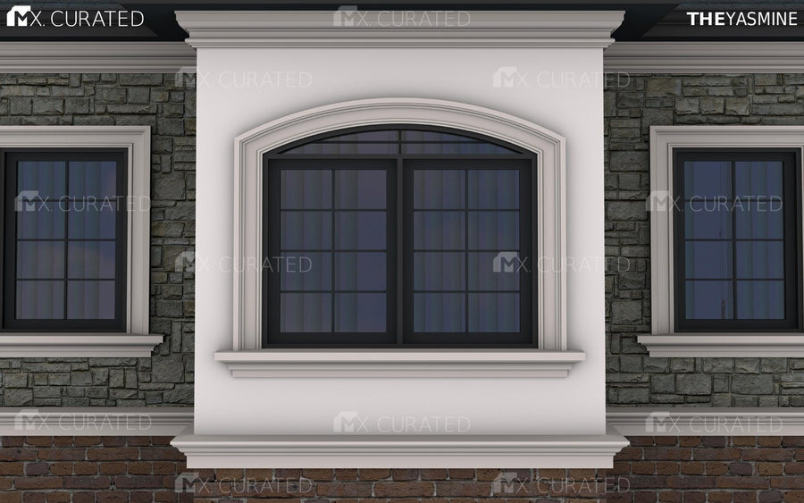 THE FOREST HILL - EXTERIOR CORNICE/CROWN MOULDING (6-7/8