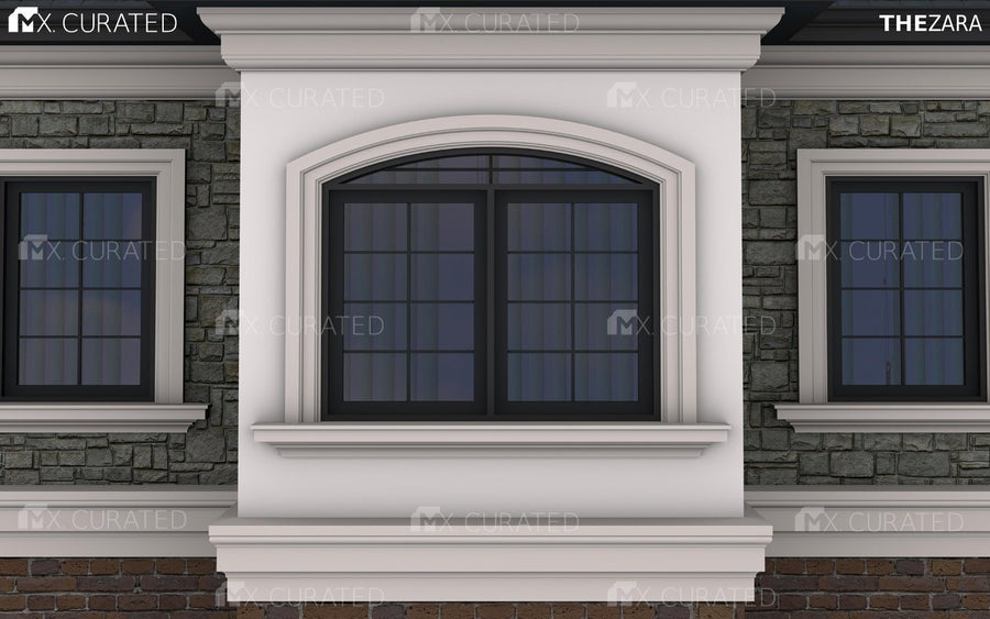 THE STEPHANIE - EXTERIOR CORNICE/CROWN MOULDING (9-9/16