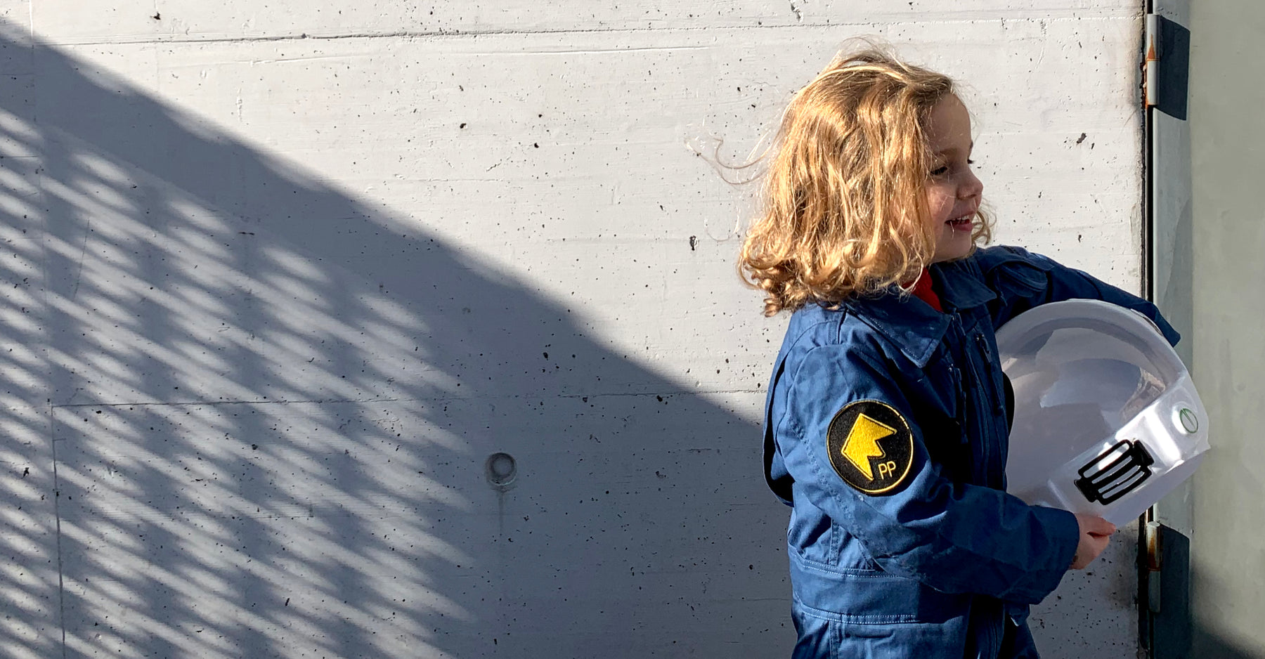 FUTURE ASTRONAUT'S FIRST SPACE SUIT