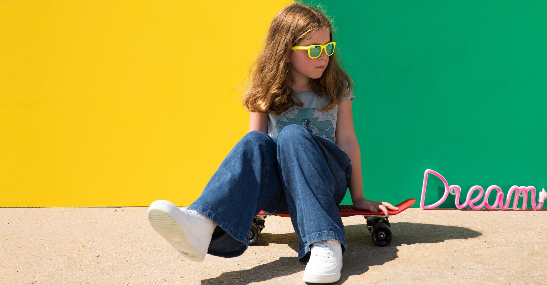 THE BRAND THAT EMPOWERS GIRLS AND SMASHES GENDER STEREOTYPES