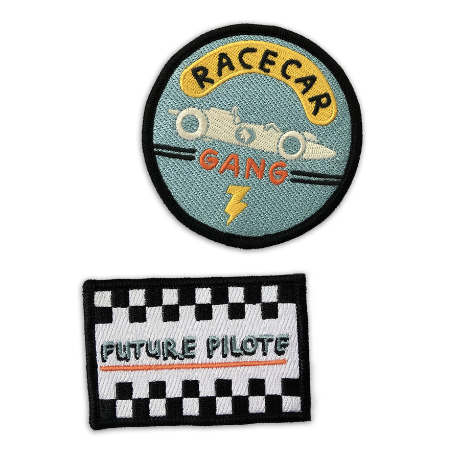Race Car Driver's Patch Pack