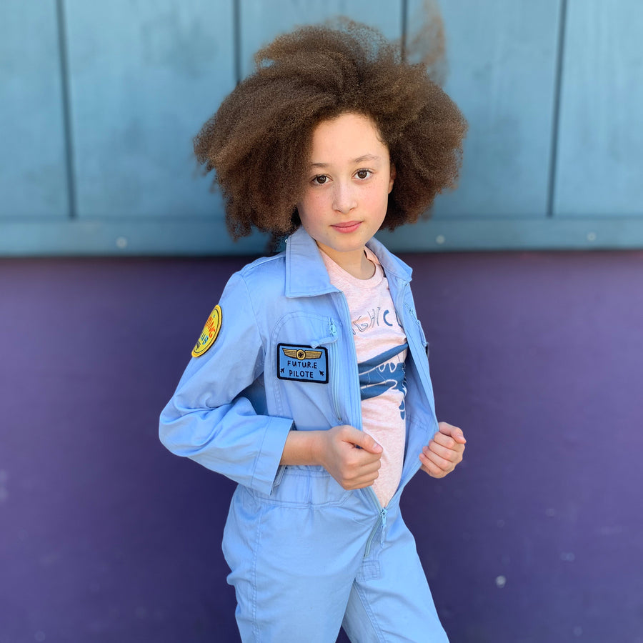 Future Pilot's First Flight Suit