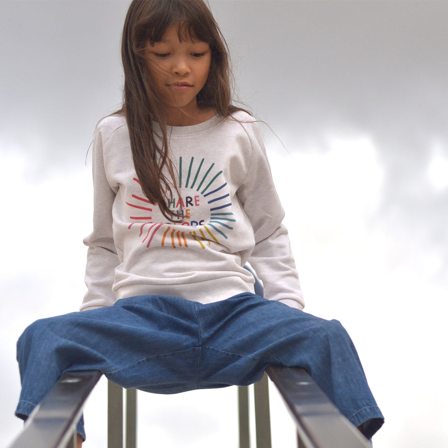 Share the Colors Raglan Sweatshirt