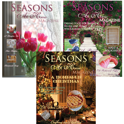Seasons at Home Magazine - Bundle 2
