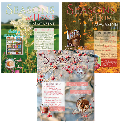 Seasons at Home Magazine - Bundle 3