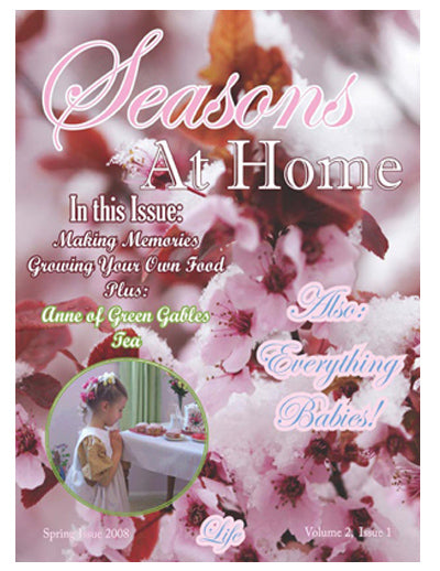 Seasons at Home Magazine - Spring Season 1