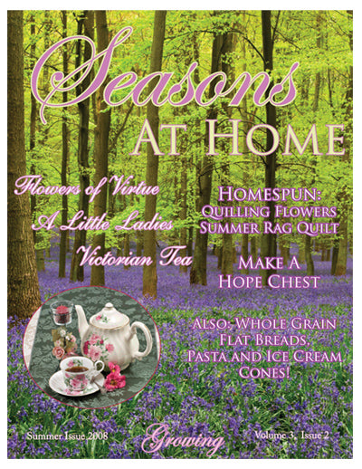 Seasons At Home Magazine Summer Season 1