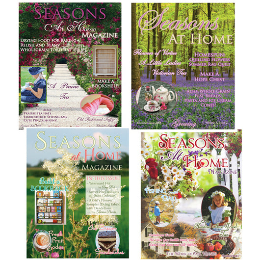 Seasons at Home Magazine Summer Print Issue Bundle