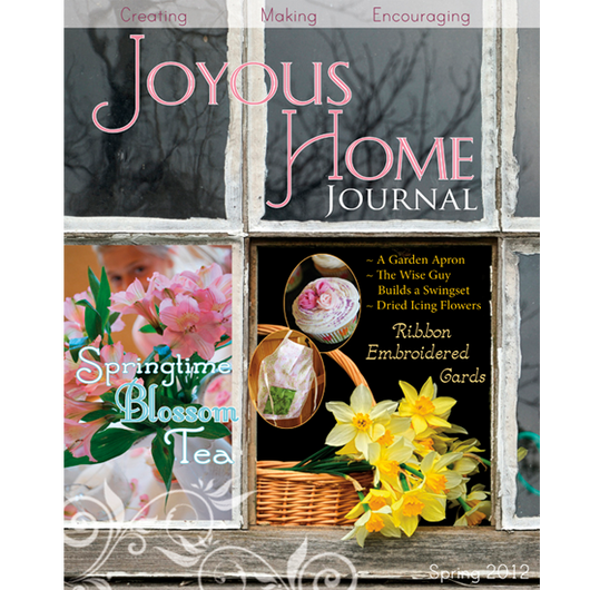 Spring Joyous Home Journal