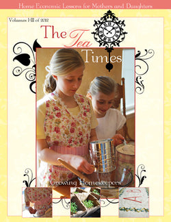 Tea Times Home Economics Magazine