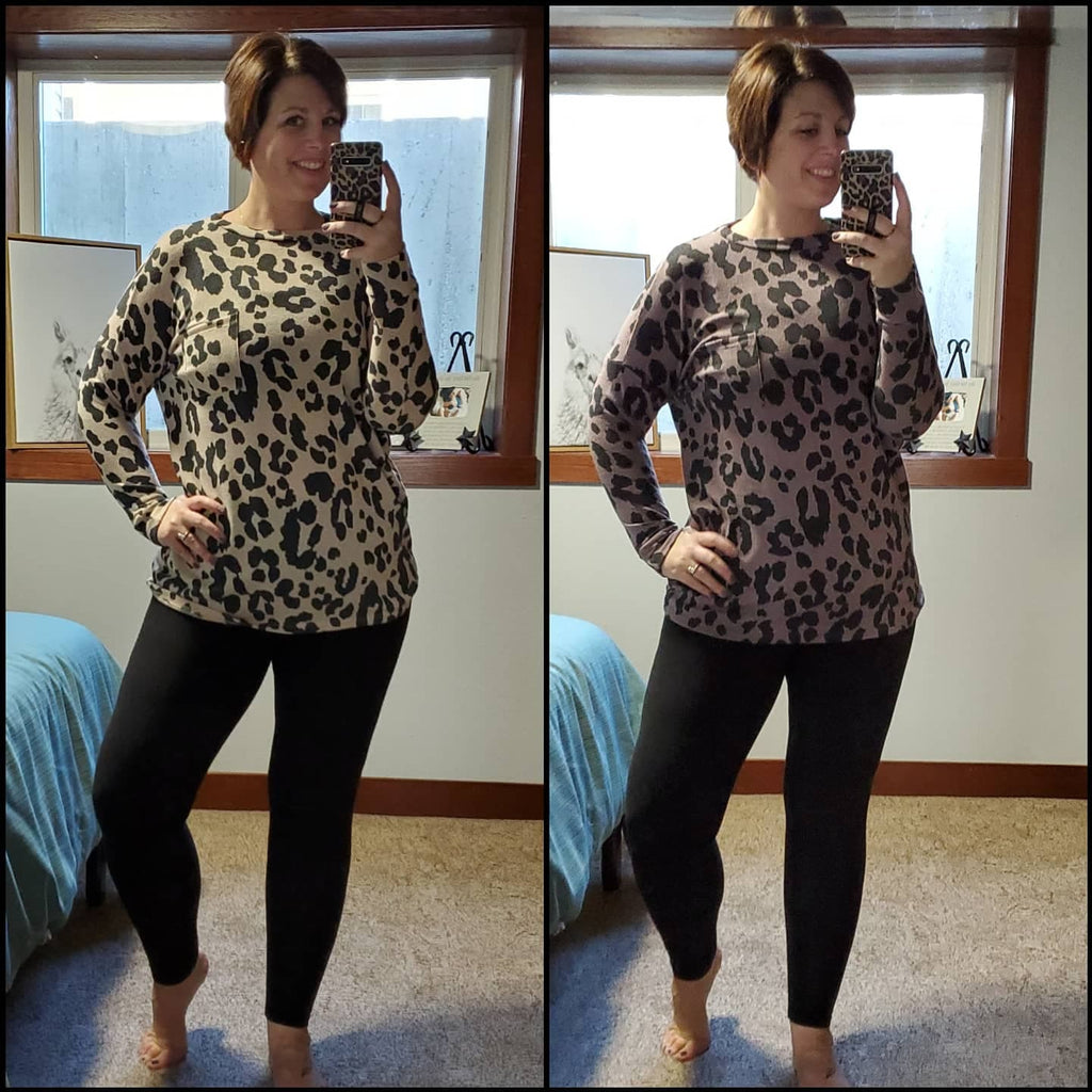 Pocket Leopard Tunic | 2 Colors