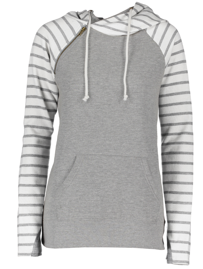 Double Hood with Stripe Accents | 6 options